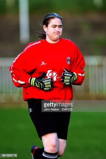 Andrea Cowan Charlton Ladies goalkeeper