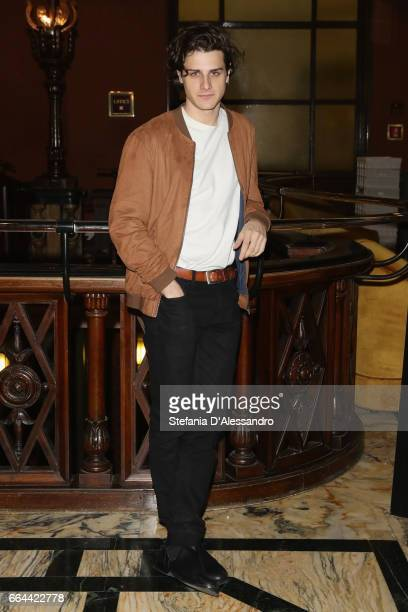 Andrea D'Arcangeli attends a photocall for 'The Start Up' on April 4 2017 in Milan Italy