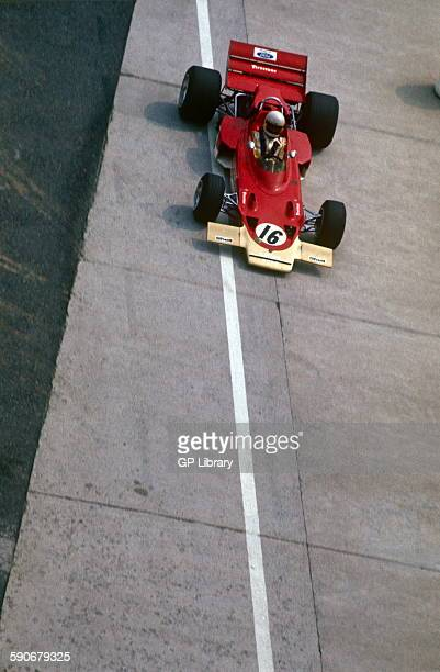 Andrea de Adamich in a McLaren Alfa Romeo at the French GP Clermont Ferrand 5 July 1970