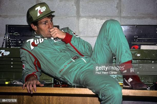 Andrea de Cesaris, Grand Prix of Brazil, Autodromo Jose Carlos Pace, Interlagos, Sao Paolo, 24 March 1991.