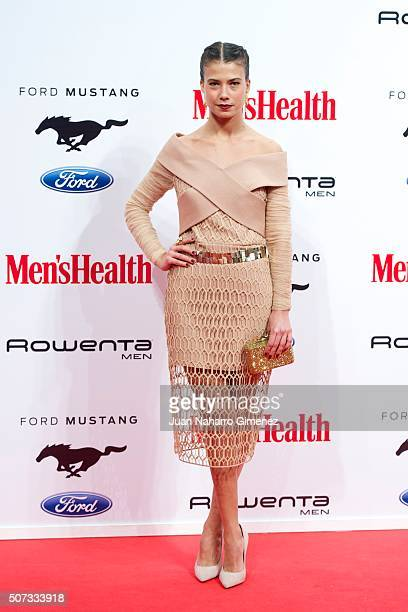 Andrea del Rio attends Men's Health 2015 Awards on January 28 2016 in Madrid Spain