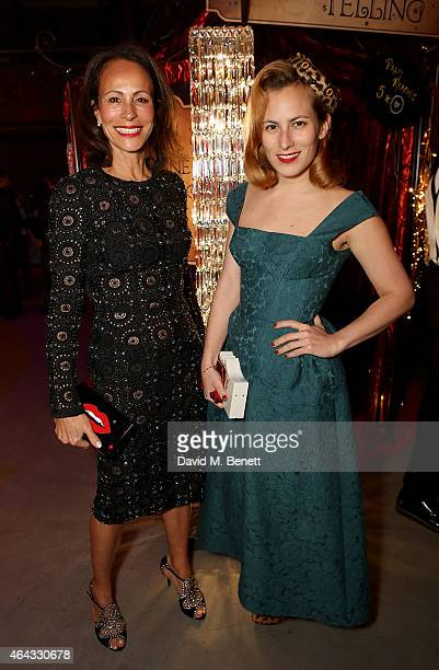 Andrea Dellal and Charlotte Dellal attend the The World's First Fabulous Fund Fair hosted by Natalia Vodianova and Karlie Kloss in support of The...