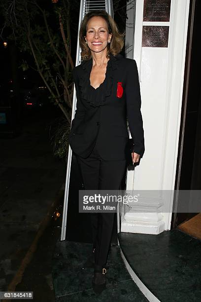 Andrea Dellal attending the Rodial Dinner Hosted By Poppy Delevingne Maria Hatzistefanis at Casa Cruz on January 16 2017 in London England