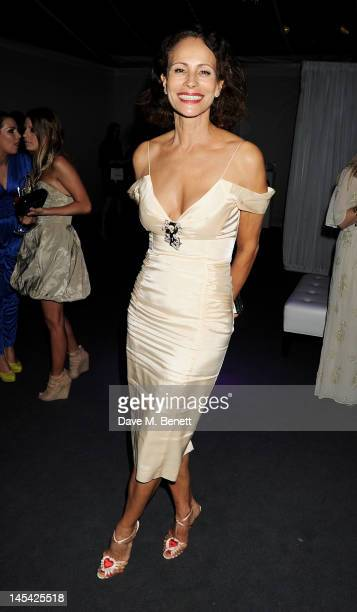 Andrea Dellal attends an after party following the Glamour Women of the Year Awards in association with Pandora at Berkeley Square Gardens on May 29...