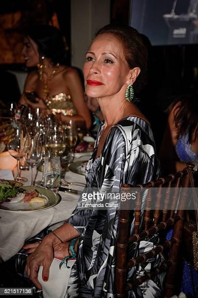 Andrea Dellal attends at 2016 amfAR Inspiration Gala Sao Paulo on April 15 2016 in Sao Paulo Brazil