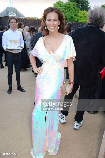 Andrea Dellal attends the annual summer party in partnership with Chanel at The Serpentine Pavilion on June 19 2018 in London England
