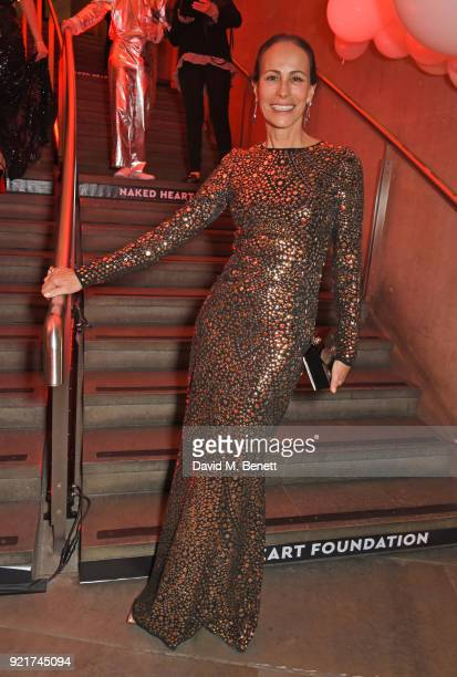 Andrea Dellal attends the Naked Heart Foundation's Fabulous Fund Fair at The Roundhouse on February 20 2018 in London England