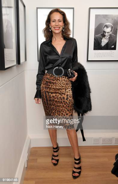 Andrea Dellal attends the private view for 'Once Upon A Time' on October 16 2009 in London England