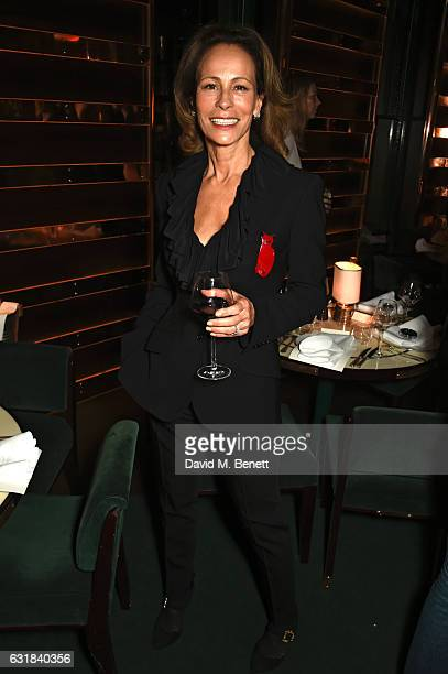 Andrea Dellal attends the Rodial dinner hosted by Poppy Delevingne and Maria Hatzistefanis at Casa Cruz on January 16 2017 in London England