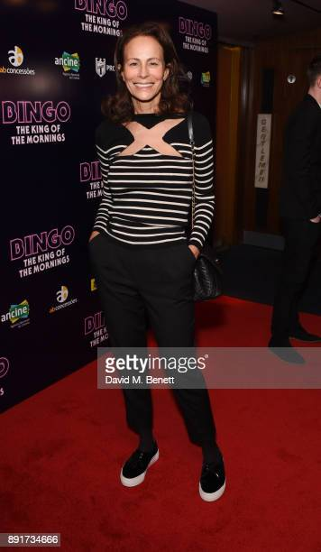 Andrea Dellal attends the UK Premiere of 'Bingo The King Of The Mornings' at The Curzon Mayfair on December 13 2017 in London England
