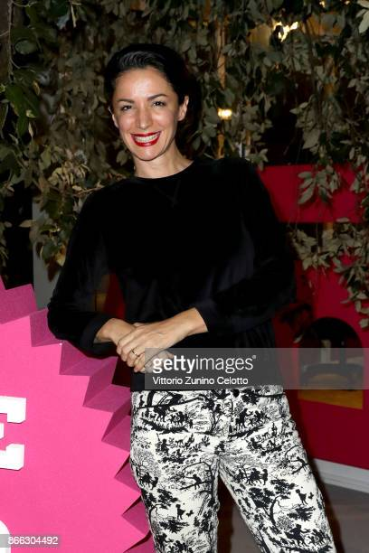 Andrea Delogu attends Casa Alice opening during the 12th Rome Film Fest at Auditorium Parco Della Musica on October 25 2017 in Rome Italy