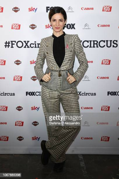 Andrea Delogu attends Fox Circus event at BASE Milano on December 2 2018 in Milan Italy