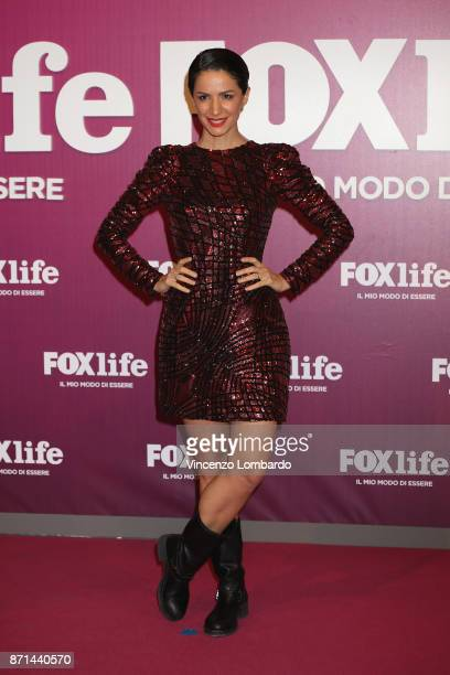 Andrea Delogu attends Foxlife Official Night Out on November 7 2017 in Milan Italy