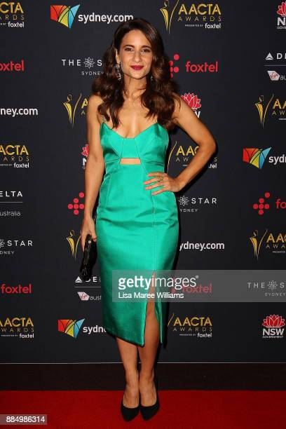 Andrea Demetriades attends the 7th AACTA Awards Presented by Foxtel | Industry Luncheon at The Star on December 4 2017 in Sydney Australia