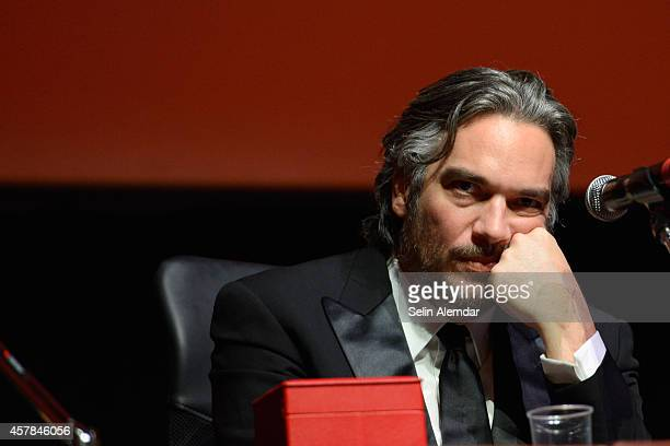Andrea Di Stefano attends the Award Winners Press Conference during the 9th Rome Film Festival on October 25 2014 in Rome Italy