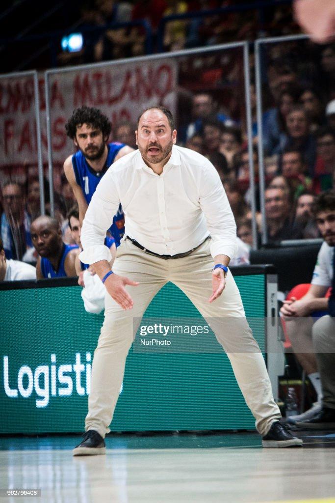 Emporio Armani Milano v Germani Basket Brescia - Playoff Italy Lega Basket A