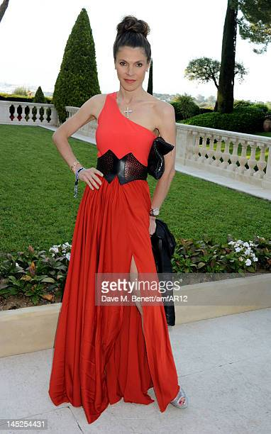 Andrea Dibelius attends the 2012 amfAR's Cinema Against AIDS during the 65th Annual Cannes Film Festival at Hotel Du Cap on May 24 2012 in Cap...