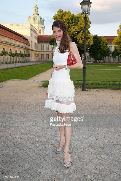 Andrea Dibelius attends the reopening of the Berggruen Museum at Schloss Charlottenburg on June 7 2013 in Berlin Germany