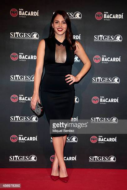 Andrea Duro attends a photocall for the 'Bacardi Sitges' Awards 2014 held at the Casa Barcardi during the '47th Sitges Film Festival 2014' on October...