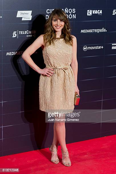 Andrea Duro attends 'Cien Anos De Perdon' premiere at Capitol Cinema on March 1 2016 in Madrid Spain