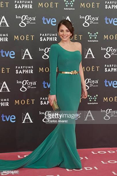 Andrea Duro attends Goya Cinema Awards 2014 at Centro de Congresos Principe Felipe on February 7 2015 in Madrid Spain