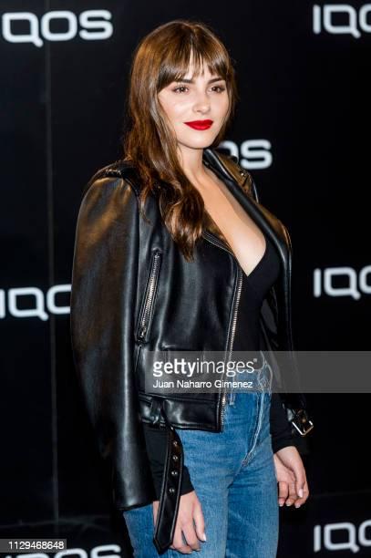 Andrea Duro attends IQOS presentation at Palacio de la Comunicacion on February 13 2019 in Madrid Spain