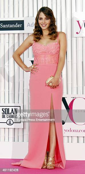 Andrea Duro attends 'IX International Yo Dona Awards' on June 24 2014 in Madrid Spain