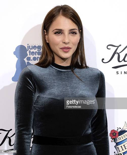 Andrea Duro attends 'Kiehls's Since 1851' 10th anniversary charity event at Espacio Hermosilla on September 29 2016 in Madrid Spain