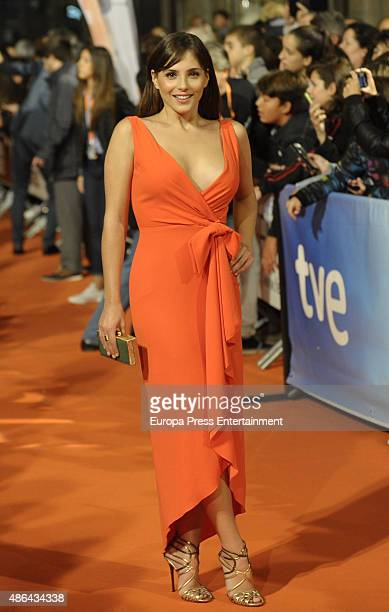 Andrea Duro attends 'Olmos y Robles' premiere during FesTVal 2015 on September 3 2015 in VitoriaGasteiz Spain