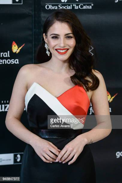 Andrea Duro attends Opening Day Red Carpet Malaga Film Festival 2018 on April 13 2018 in Malaga Spain