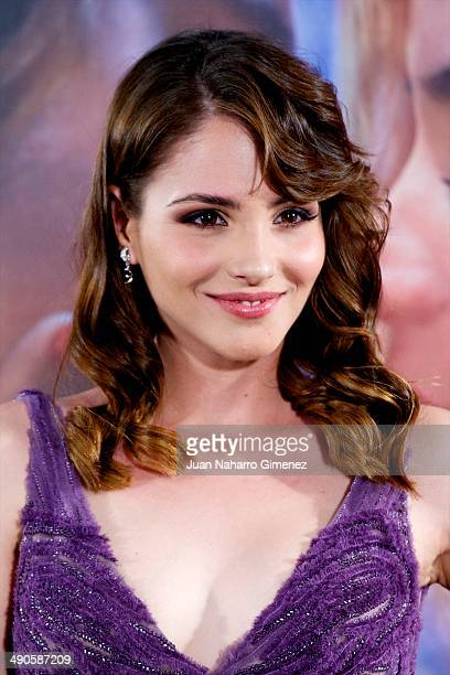 Andrea Duro attends 'Por Un Punado De Besos' premiere at Callao Cinema on May 14 2014 in Madrid Spain