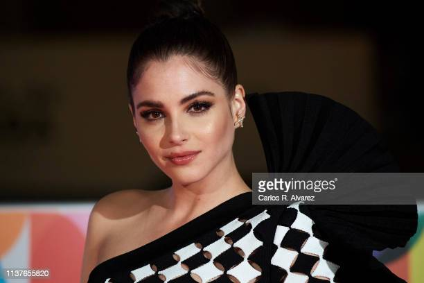 Andrea Duro attends 'Retrospectiva' award during the 22th Malaga Film Festival on March 22 2019 in Malaga Spain