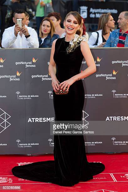 Andrea Duro attends the 19th Malaga Spanish Film Festival at the Cervantes Theater on April 22 2016 in Malaga Spain