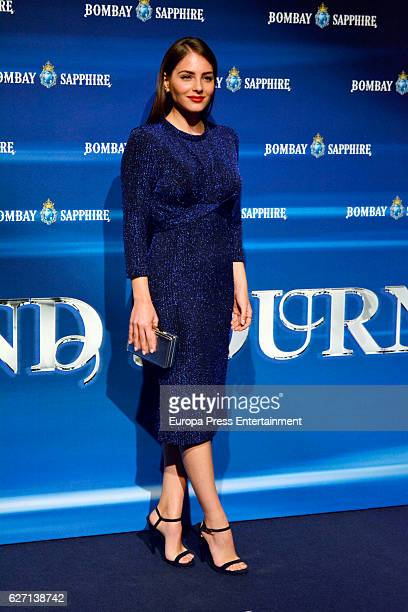 Andrea Duro attends the closing party of 'The Grand Journey by Bombay Sapphire' at Real Fabrica de Tapices on December 1 2016 in Madrid Spain