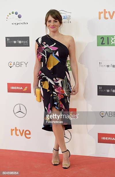 Andrea Duro attends the Jose Maria Forque Awards at the Palacio de Congresos on January 11 2016 in Madrid Spain