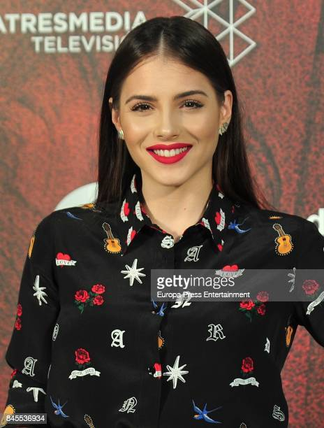 Andrea Duro attends the 'La Catedral del Mar' photocall during the FesTVal 2017 on September 8 2017 in VitoriaGasteiz Spain