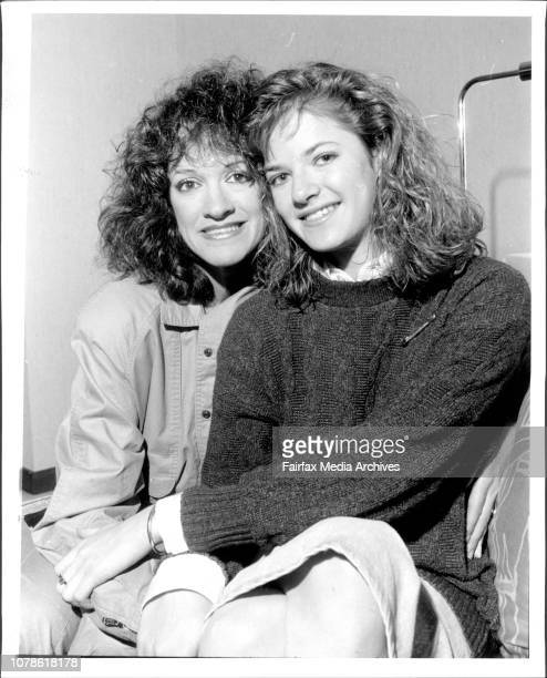 Andrea Elson star of ALF with her mother Elinor Regent Hotel CityALF that lovable but obnoxious alien has let stardom go to his furry head according...