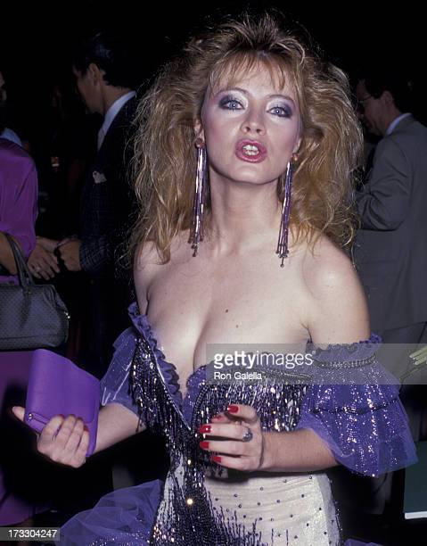Andrea Evans attends 14th Annual Daytime Emmy Awards on June 30 1987 at the Sheraton Center in New York City