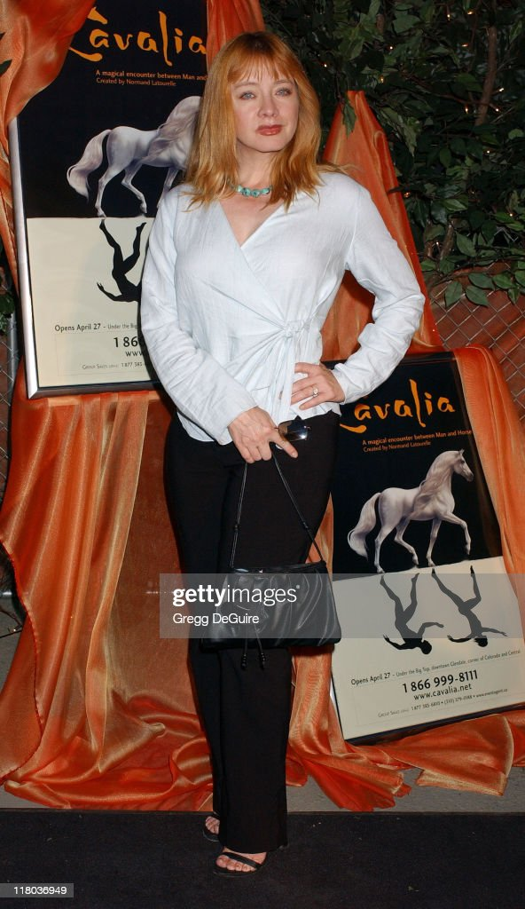 Andrea Evans during Opening Night of 'Cavalia' - Arrivals at Big Top in Glendale in Glendale, California, United States.