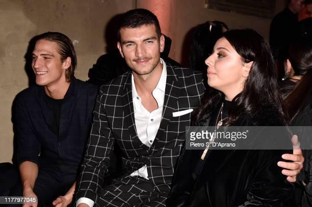 Andrea Faccio Marco Fantini and Lavinia Fuksas attend 'Giambattista Valli Loves HM Cocktail Dinatorie' on October 24 2019 in Rome Italy