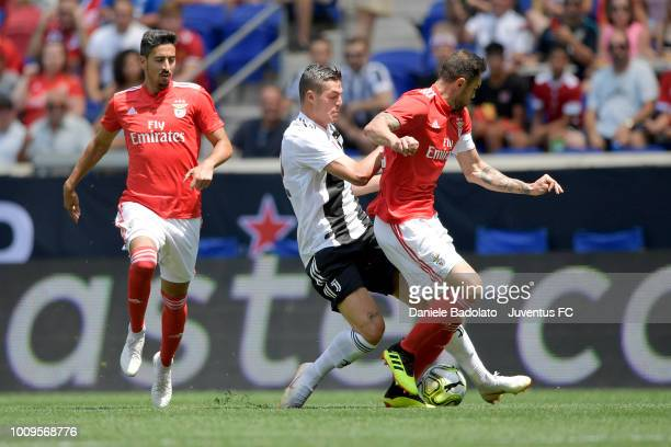 Andrea Favilli during the International Champions Cup 2018 match between Benfica and Juventus at Red Bull Arena on July 28 2018 in Harrison New Jersey