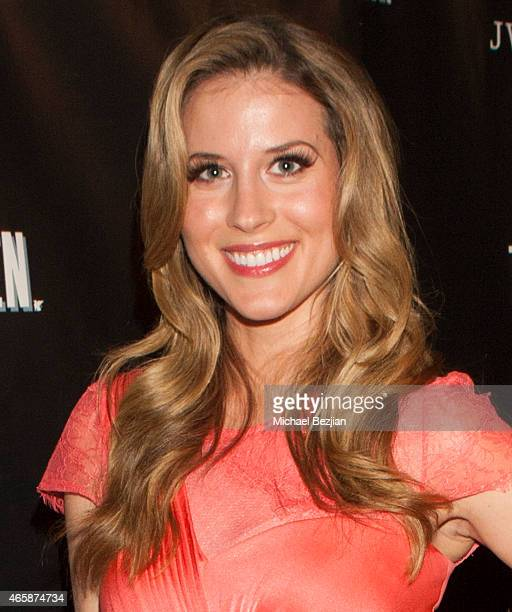 Andrea Feczko attends JW Marriott Hosts The Premiere Of 'Two Bellmen' at JW Marriot at LA Live on March 10 2015 in Los Angeles California