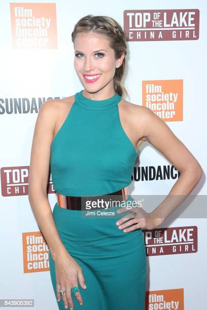 Andrea Feczko attends the New York premiere of 'Top of the Lake China Girl' at The Film Society of Lincoln Center Walter Reade Theatre on September 7...