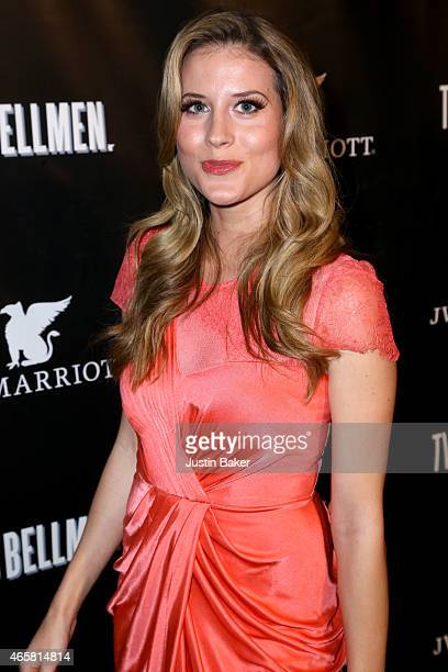 Andrea Feczko attends the 'Two Bellmen' World Premiere at JW Marriot at LA Live on March 10 2015 in Los Angeles California