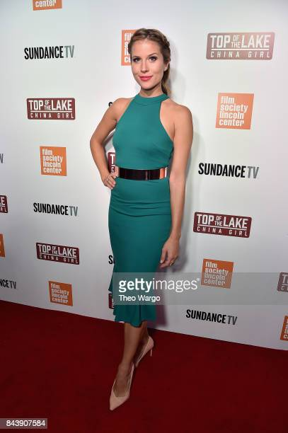 Andrea Feczko attends 'Top Of The Lake China Girl' Premiere at Walter Reade Theater on September 7 2017 in New York City