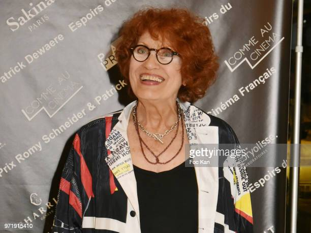 Andrea Ferreol attends the 36th Romy Schneider Patrick Dewaere Award Ceremony at Hotel Lancaster on June 11 2018 in Paris France