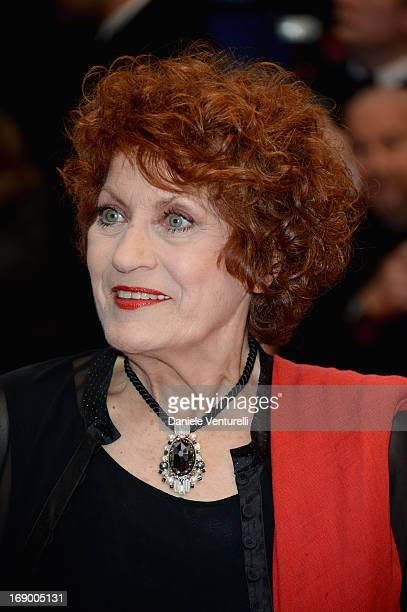 Andrea Ferreol attends the Premiere of 'Jimmy P ' at Palais des Festivals during The 66th Annual Cannes Film Festival on May 18 2013 in Cannes France