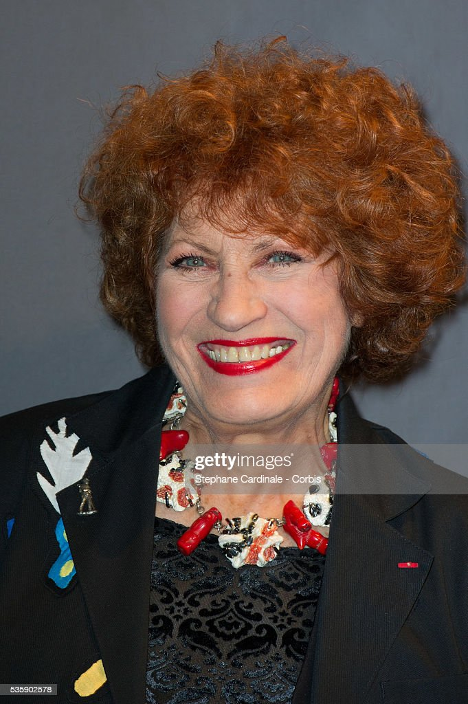 Andrea Ferreol attends the Tribute to Quentin Tarantino, during the 5th Lumiere Film Festival, in Lyon.