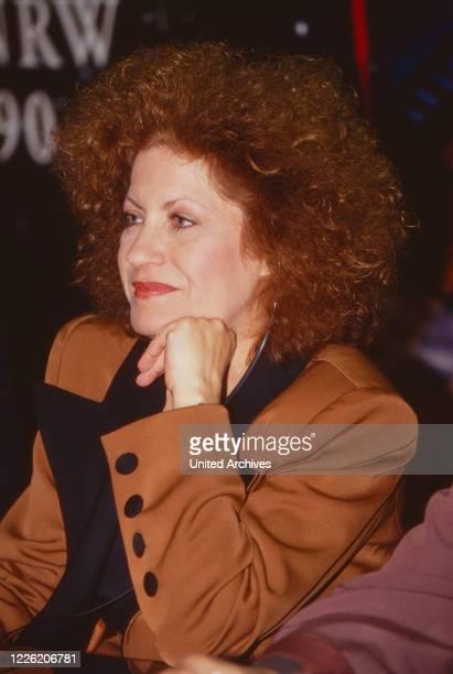 Andrea Ferreol französische Schauspielerin Deutschland 1991