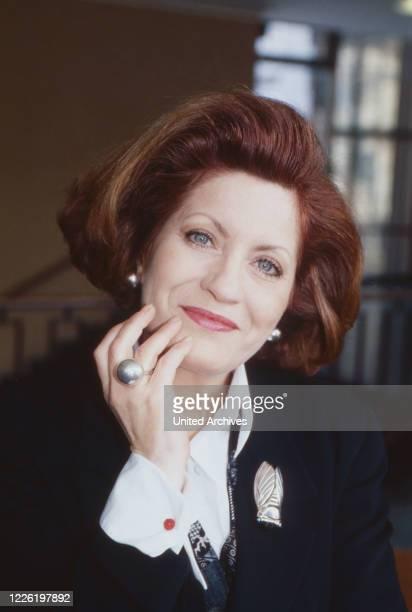 Andrea Ferreol französische Schauspielerin Deutschland 1994
